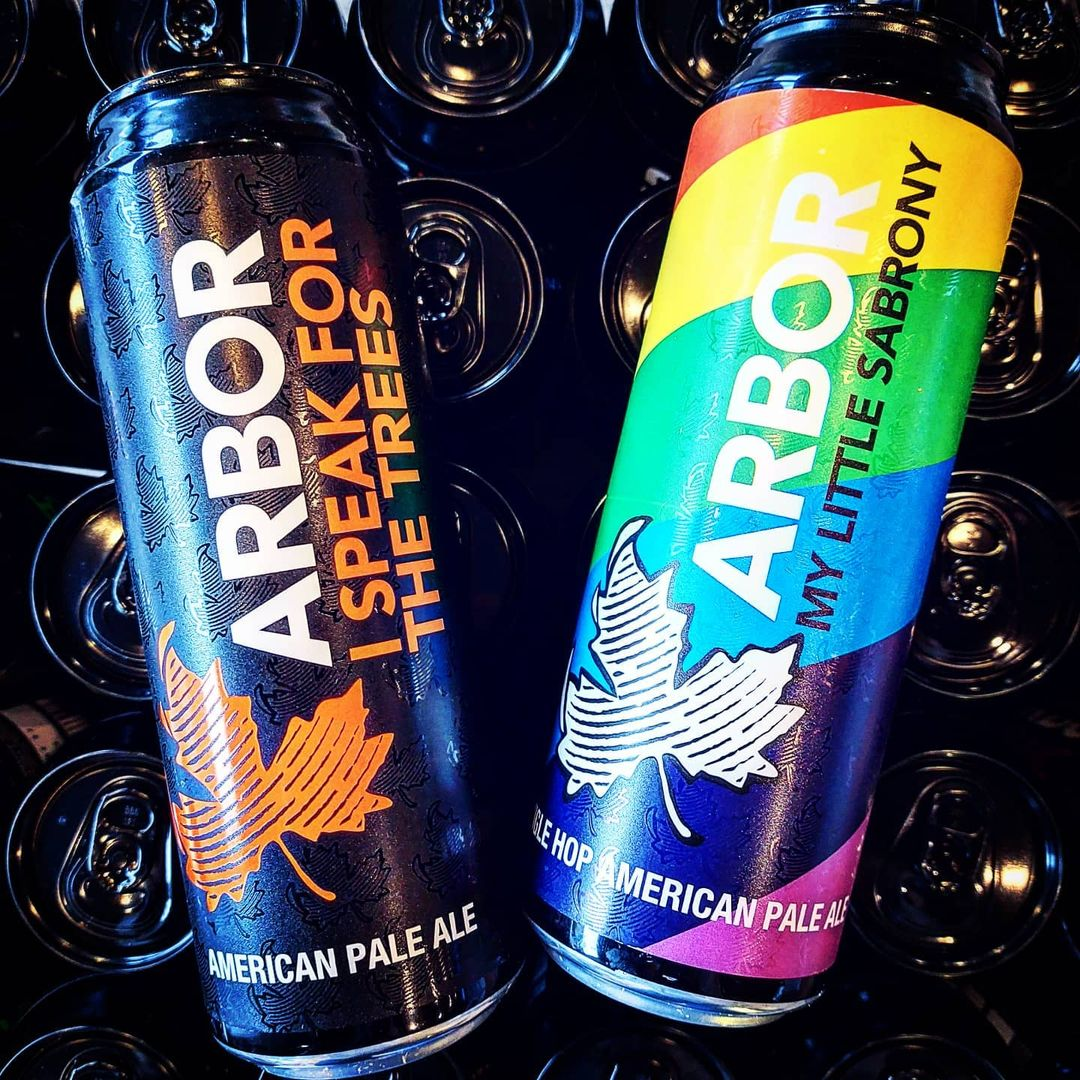 @arbor.ales pint cans are ready for you! New delivery and al...