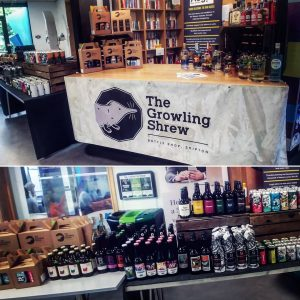 @growlingshrew pop-up shop is ready for business today @skip...