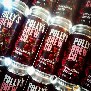 @pollysbrewco lining our shelves with more great beers. ¤ AZ...
