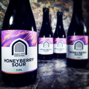 @vaultcitybrewing are here and both sours are packing a dece...