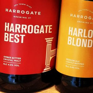 A fresh delivery has arrived from @harrogate_brewing_co and ...