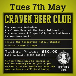 AMAZING EVENING OF FOOD & BEER Not to be missed! @northernmo...