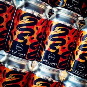 Back in from @mobberleybeer but this time with new 330ml can...