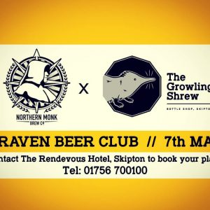 Craven Beer Club on 7th May is undoubtedly one not to be mis...