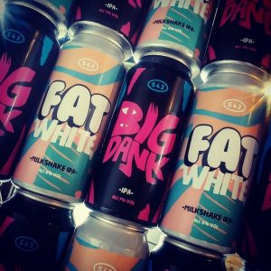 Four new big beers in from @s43brewery ¤ FAT WHITE // New En...