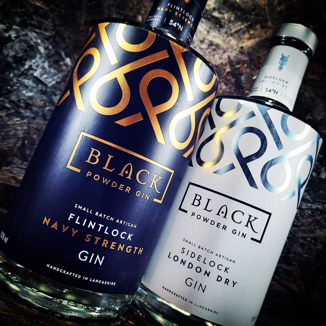 Fresh delivery just in... @blackpowdergin   Far too many gin...