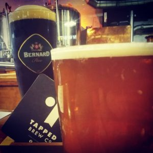 Having a few beer in #leeds after a day of shopping with The...
