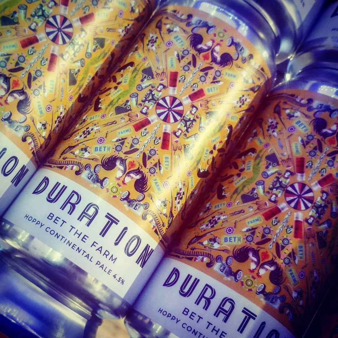 Just landed from @durationbeer #crackingbeers ¤ BET THE FARM...