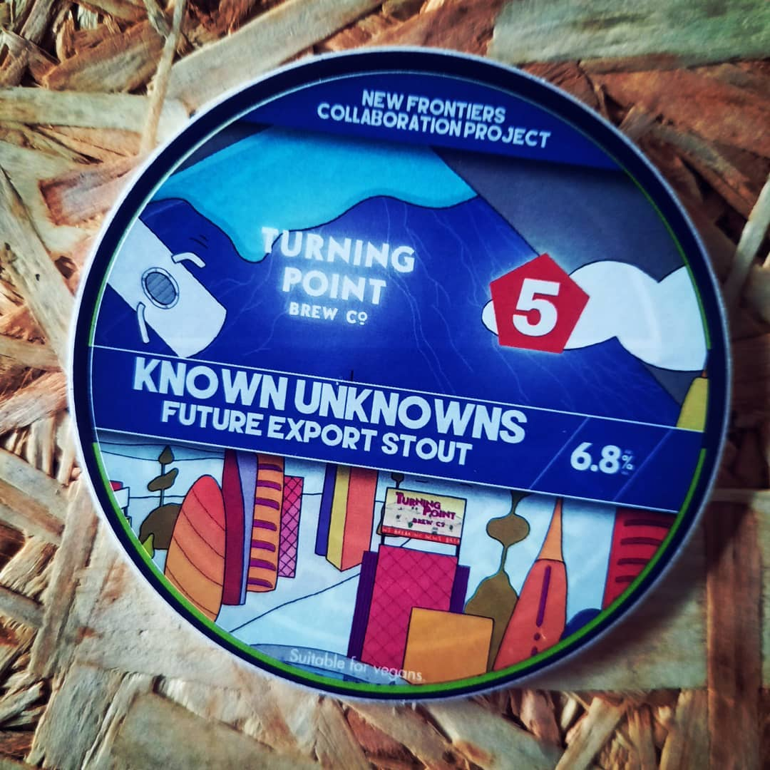 KNOWN UNKNOWNS // Export Stout // 6.8% // @turningpointbrewc...
