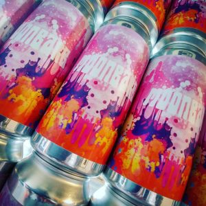 MOONBARB has landed from @ridgesidebrewery // Raspberry, Rhu...