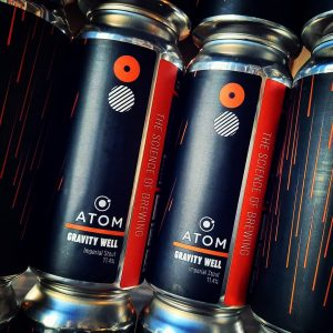 New beers from @atombeers in for this weekend and they're go...