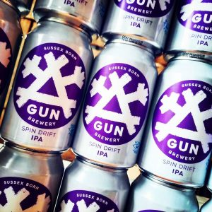 New delivery in from @gunbrewery. We're looking forward to g...