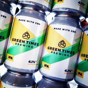 New in from @greentimesbrewing // SESSION IPA // 4.1%.  Not ...