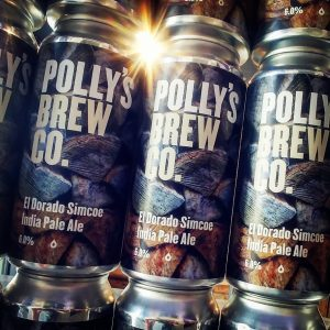 New in from @pollysbrewco and all ready for your Thursday be...
