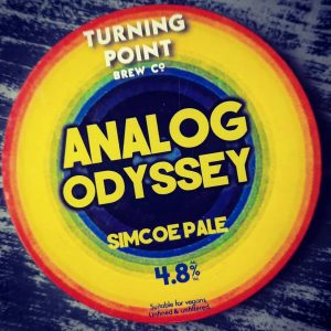 New on for the weekend from @turningpointbrewco   ANALOG ODY...
