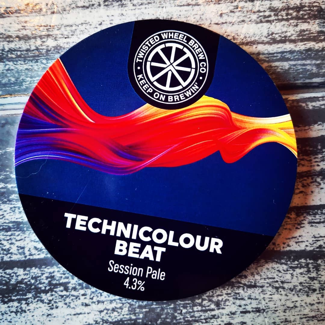 New on growler filling from @twisted_wheelbc   TECHNICOLOUR ...