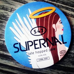 New on #growlerfilling from @s43brewery  SUPERNAL // America...