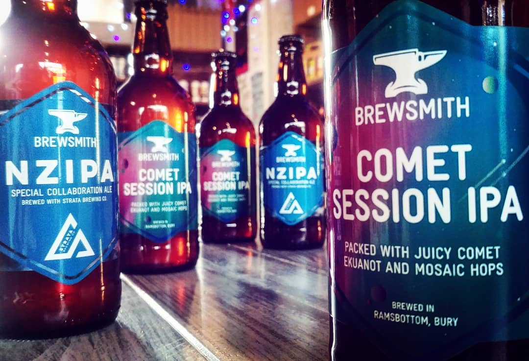 New one for us, massive cheers for Brewsmith Beer, #ramsbott...