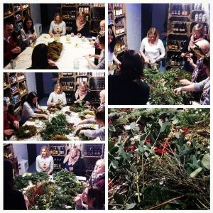Our Luxury Wreath Making Workshop was a great evening lastni...