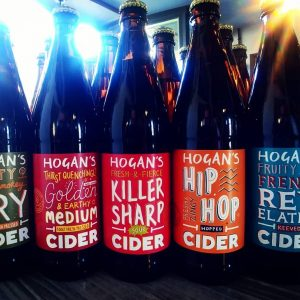 Shelves stocked up with delicious #ciders from @hoganscider ...