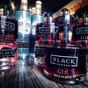 Stocked up ready for your weekend Gin! @blackpowdergin avail...
