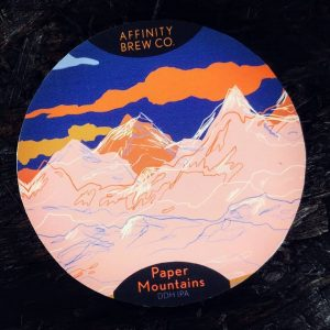 This is the 2nd of 3 new beers on today.  PAPER MOUNTAINS //...