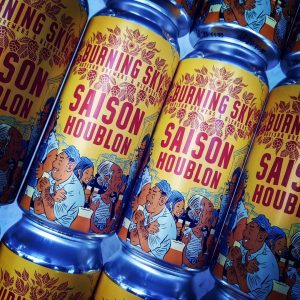 Two cracking beers from @burningskybeer are here for you and...