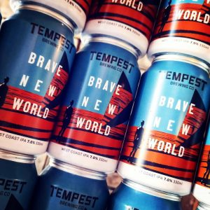 We're gearing up for this weekend. New in from @tempestbrewi...