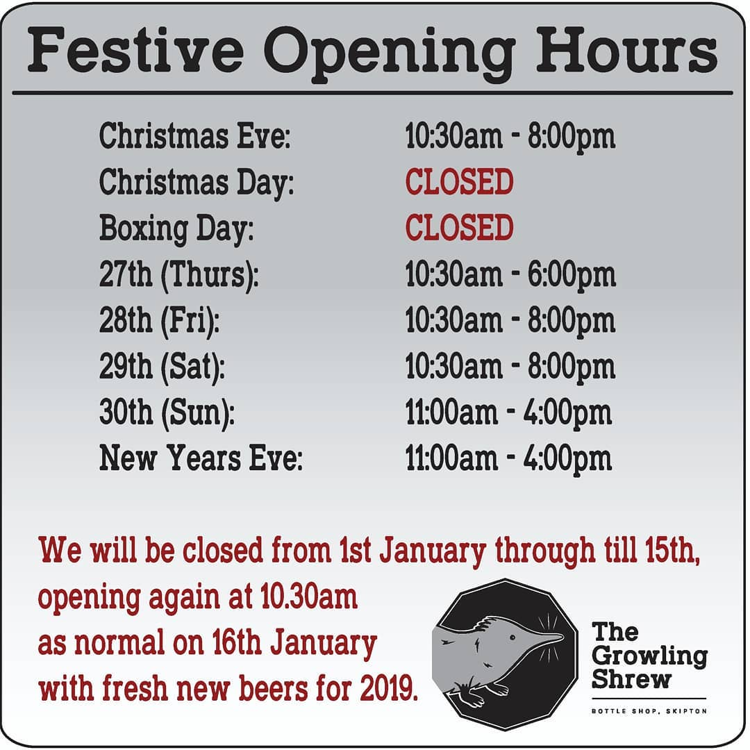 We're open later tomorrow to help with all those Christmas E...