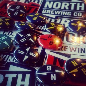 Don't forget to ask for your free @northbrewco pin badge and...