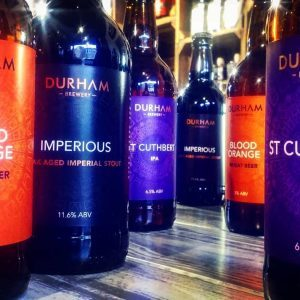 Loving the new branding from @durhambrewery & back by popula...