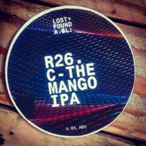 #limitedbeer from @lostfoundabl // RC26. C-THE MAN GO // IPA...